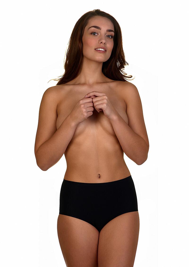 Unlimited high waist zwarte slips